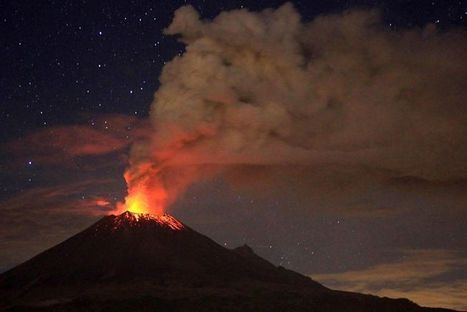 Mexico volcano ash disrupts US flights for second day - Fox News | Volcanic Ash and its effects on planes | Scoop.it