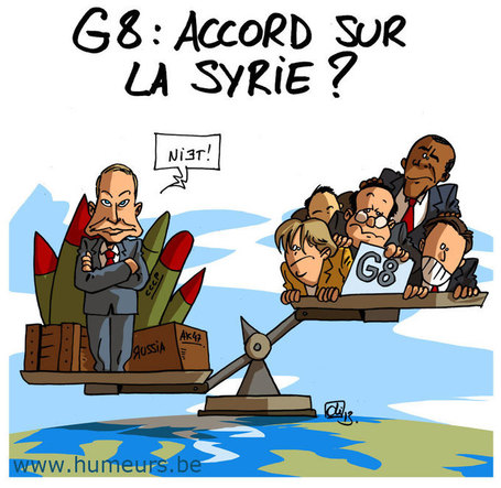 G8 : pas d'accord sur la Syrie ! | Baie d'humour | Scoop.it
