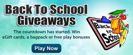 Beat the blues with Back to School giveaways | LandMark Bingo Blog | Play Bingo Online | Scoop.it