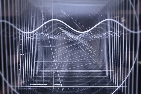 The Science Of Sound Gets Visualized In This A/V Experiment | Nicolas Bernier interview | Musical coding | Scoop.it