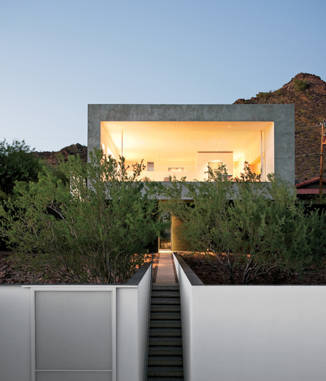 A Geometric Desert Home in Phoenix | sustainable architecture | Scoop.it
