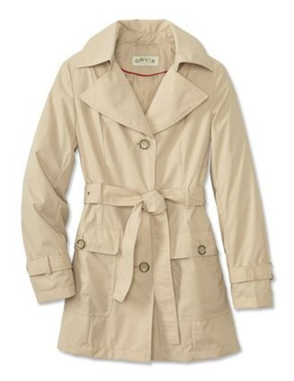 Orvis Women's Single-breasted Trench Coat , Tan, X Large | Risana | from my desk | Scoop.it