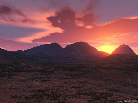 Voyage Virtuel (Gallerie Terragen) | The Blog's Revue by OlivierSC | Scoop.it