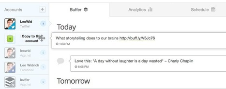 9 Best Social Media and Content Marketing Tips From Buffer | Surviving Social Chaos | Scoop.it