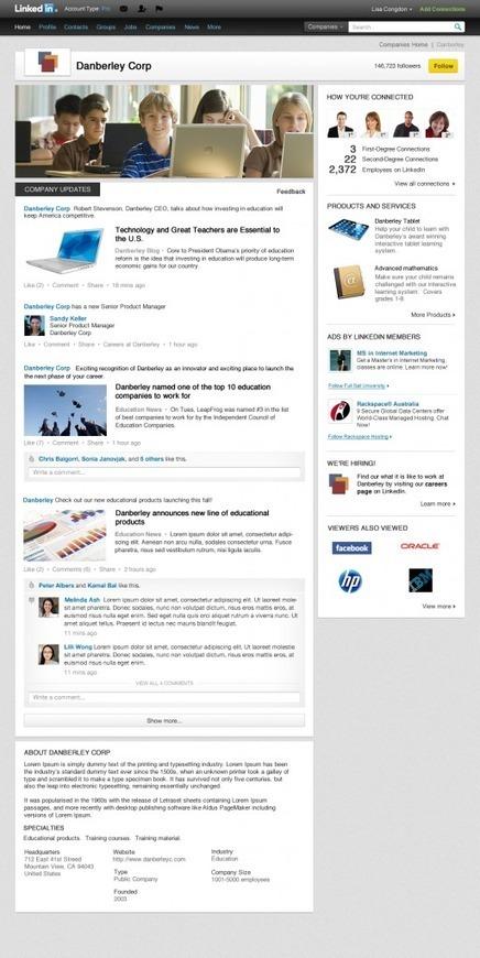 Nuovo look per le Aziende su LinkedIn | Alessio Carciofi :  consulenza e [info] formazione sul turismo | Scoop.it