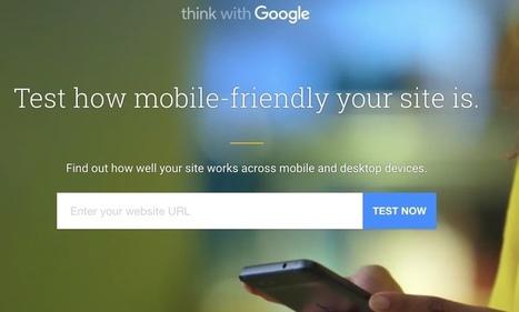 TestMySite. Un nouvel outil Google pour tester votre site - Les Outils Google | Les outils du Web 2.0 | Scoop.it