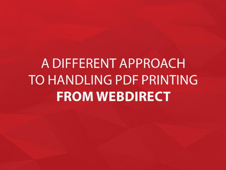 A Different Approach to Handling PDF Printing from WebDirect | FileMaker | Learning FileMaker | Scoop.it