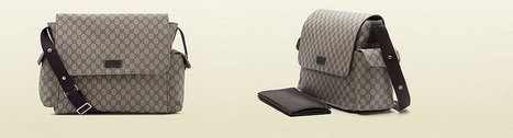 תיק עגלה Gucci | luxury diaper bags | Scoop.it