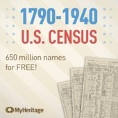 MyHeritage Offers Labor Day FREE Access to the US Census Collection | Rhit Genealogie | Scoop.it
