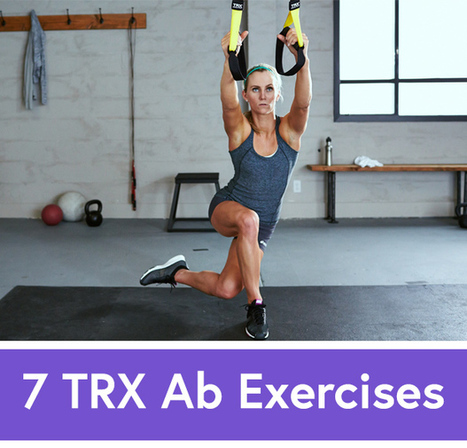 No More Sit-Ups: 7 TRX Exercises to Work Your Abs   Health and Fitness News and Reviews   Scoop.it