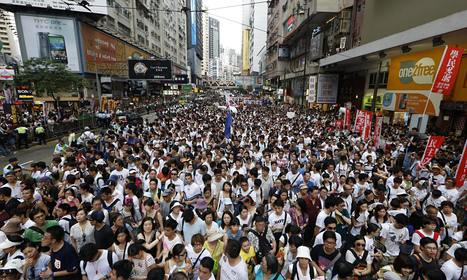 Hong Kong protests inspire mobile game | Ethical Issues In Technology | Scoop.it