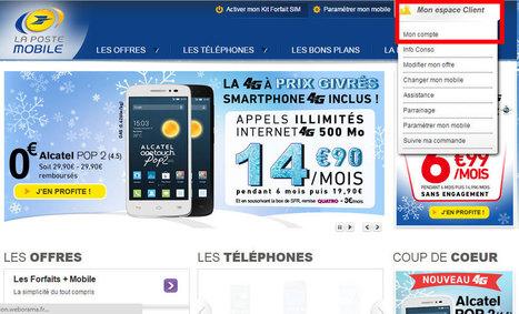 Service client La Poste Mobile - Assistance en ligne   Service client   Scoop.it