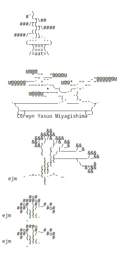 Chris.com - ASCII ART - Bonsai Trees - Tree - Japanese | ASCII Art | Scoop.it