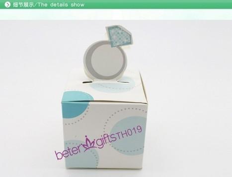 108pcs TH019 Engagement Ring Favor Box,chocolate bag | 純歐式婚禮喜糖盒 倍樂婚品 | Scoop.it