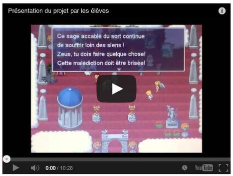 Un superbe exemple de création de Serious Games en classe | Theghost | Scoop.it