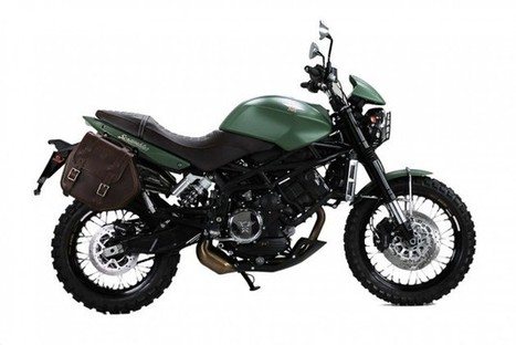Moto Morini Scrambler 1200 Military Green: una special di serie | Due ruote ed un motore | Scoop.it