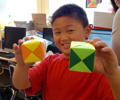 Parents: You Can Help Kids Math Using Modular Origami | Informal Learning: What Parents Need to Know | Scoop.it