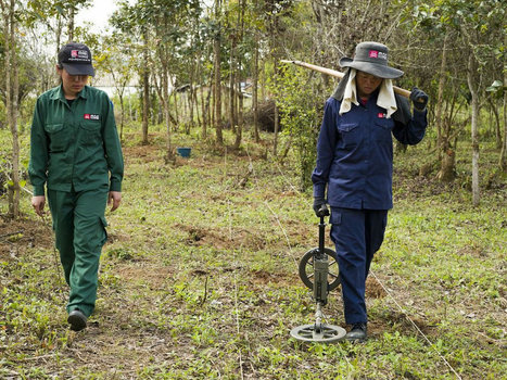 UXO: Laos still suffers legacy of United States bombing (Photo Essay) | Back Parts 1 and 2 | Scoop.it