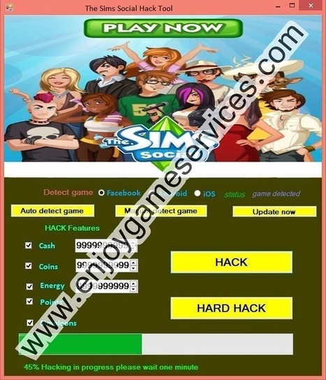 The Sims Social Hack Tool | game | Scoop.it