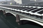 World's Largest Solar Bridge Crosses The River Thames in London | Sustainable Futures | Scoop.it