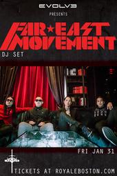 Far East Movement - Tickets - Royale Nightclub - Boston, MA, January 31, 2014 | Ticketfly | Boston Nightlife | Scoop.it