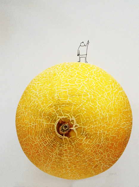 Whimsical Designs Blend Cute Illustrations with Food - My Modern Metropolis | Le It e Amo ✪ | Scoop.it