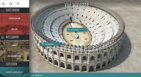 Les arènes de Nîmes reconstituées en 3D dans un webdoc en histoire. | TICE, Web 2.0, logiciels libres | Scoop.it