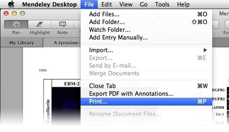 Mendeley Desktop 1.12 Available Now | Mendeley Blog | François MAGNAN  Formateur Consultant | Scoop.it