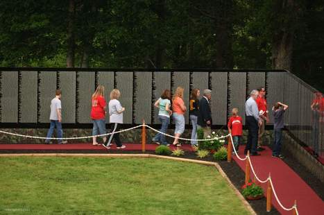 Vietnam Memorial Wall coming to Deerfield Valley - Brattleboro Reformer | Honoring Lives | Scoop.it