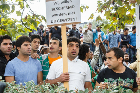 Afghans protest at Belgian Minister of Asylum and migration De Block | Brussels in photographs | Scoop.it