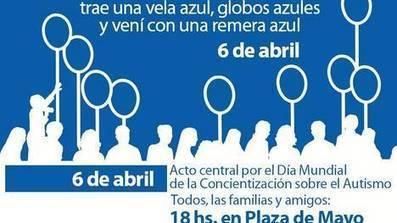 Convocan a Plaza de Mayo para concientizar sobre el autismo - Clarín - Clarín.com   autismo   Scoop.it