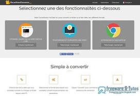 Online Video Converter : un service en ligne amélioré de conversion audio et vidéo ~ Freewares & Tutos | Réseau des offices de tourisme des Pyrénées-Orientales | Scoop.it