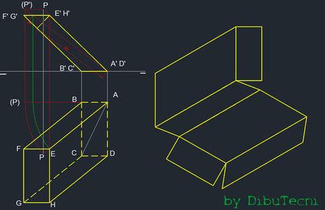 Dibujo tecnico Prisma - Trazoide   Dibujo Técnico   Scoop.it