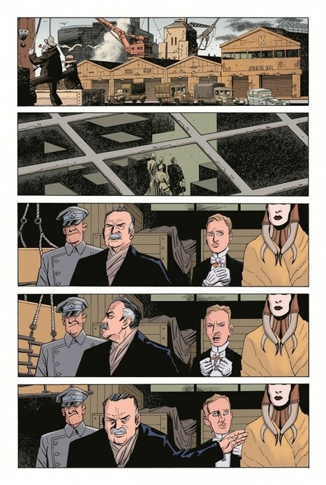 EXCLUSIVE: The First Three Pages Of League Of Extraordinary Gentlemen: Nemo: Heart Of Ice | Comic Books | Scoop.it