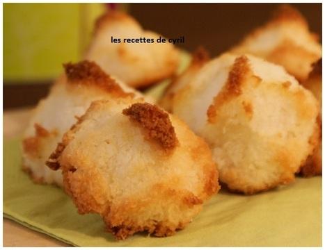 Rochers coco ultra moelleux | Recettes de cuisine | Scoop.it