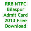 RRB NTPC Bilaspur Admit Card 2013 Hall Ticket Download Call Letter | Best Students Portal | students9 | Scoop.it