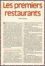Découvrir l'histoire des restaurants (I) | r | Scoop.it