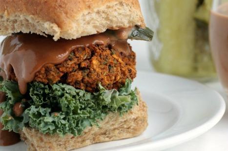 Kidney Bean and Kale BBQ Burger [Vegan, Gluten-Free] | My Vegan recipes | Scoop.it