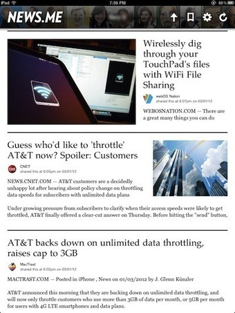 News.Me on the iPad – Read News that your friends say is worth reading | iGo With My iPad | iPads in Education | Scoop.it