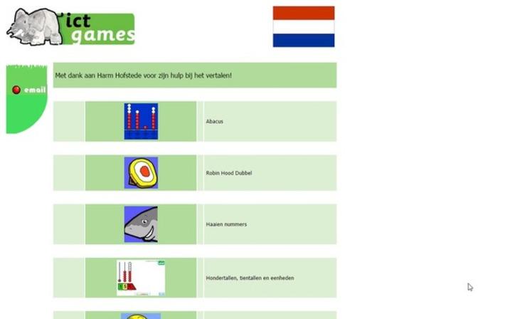 Edu-Curator: Gespot! Aantal (reken)spelletjes van ICTgames zijn vertaald in het Nederlands | Educatief Internet - Gespot op 't Web | Scoop.it
