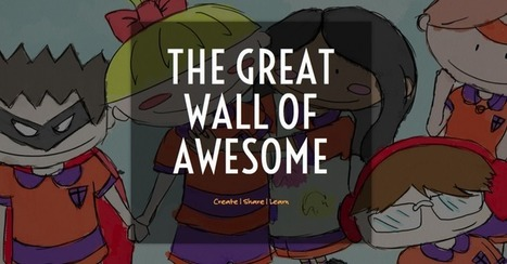 Teachers Build 'The Great Wall Of Awesome' To Inspire Learning - Edudemic | Involved Librarian | Scoop.it