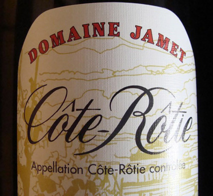 « Côte-Rôtie » 1995, domaine Jamet | oenologie en pays viennois | Scoop.it