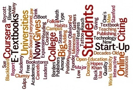Education: 10 Hottest Ed-Tech Stories of 2012 - Wired Campus - The Chronicle of Higher Education | Cloud Central | Scoop.it