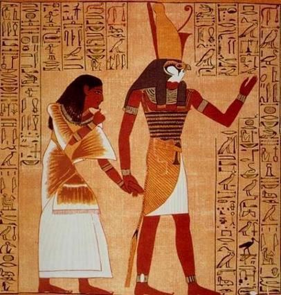 El mito de Horus, el dios halcón   Viaje hacia la cultura egipcia   Scoop.it