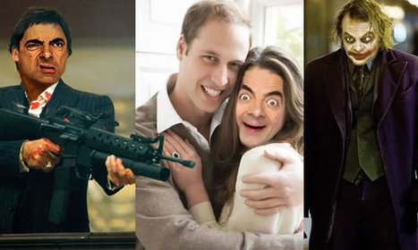 10 Crazy Online Images Of Mr Bean As Movie Characters | Funny Stuff | Scoop.it