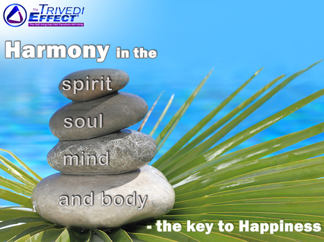Harmony in the spirit, soul, mind, and body - The key to happiness | Mahendra Kumar Trivedi | Scoop.it