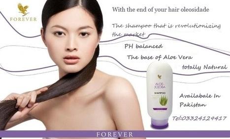 Aloe-Jojoba Shampoo | Forever Living Aloe Vera Products In Pakistan | Scoop.it