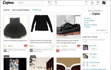 Copious revamps social commerce service with a new twist | Everything Pinterest | Scoop.it