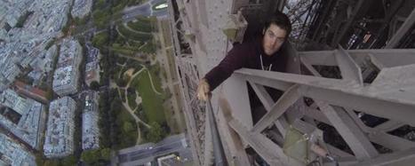 Paris: il grimpe la Tour Eiffel à mains nues (VIDEO) - France Soir   La Tour Eiffel   Scoop.it