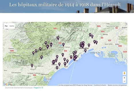 Les hôpitaux militaires de la Première Guerre Mondiale | Nos Racines | Scoop.it